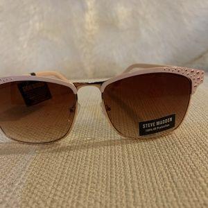 NWT Steve Madden Rose Gold S5474 Sunglasses